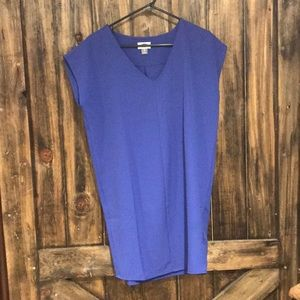 Old Navy Blue Cocoon Dress Size XSmall